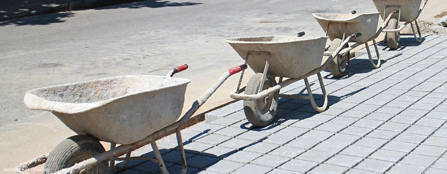 Concrete Wheelbarrow Service